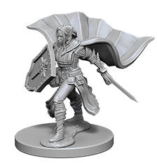 Miniature: Deep Cuts | Elf Female Paladin