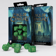 Call Of Cthulhu Glow Dice Set