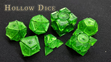 Hollow Dice: Irregular Dice