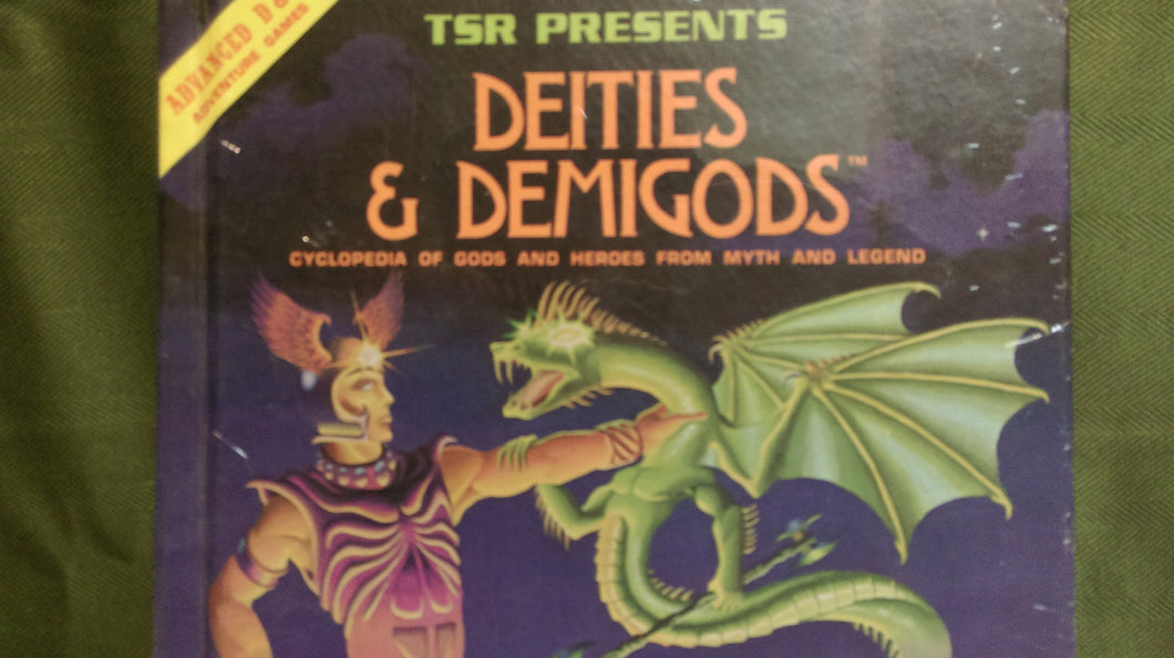 D&D 1e: Book | Deities and Demigods - After Market