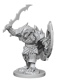 Miniatures: Nolzur's | Male Dragonborn Fighter