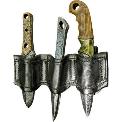 Rogue LARP Knives & Holder