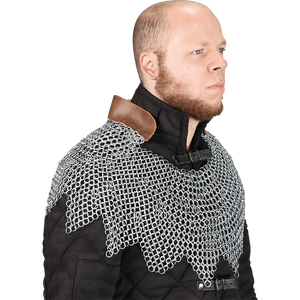 Butted Chainmail Mantle Dagged