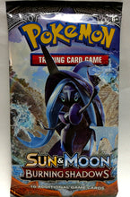 Pokemon Trading Cards: Sun & Moon Burning Shadows | Booster