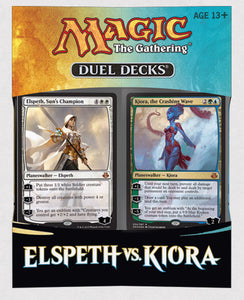 MTG: Elspeth vs Kiora | Duel Decks
