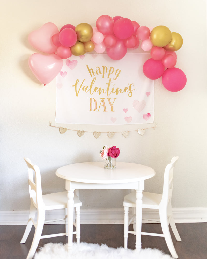 Happy Valentine's Day Mini-Backdrop