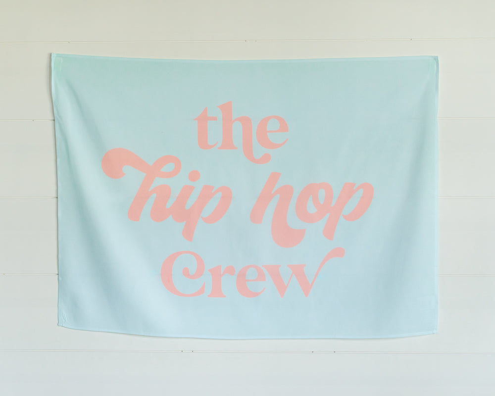 Hip Hop Crew Mini-Backdrop