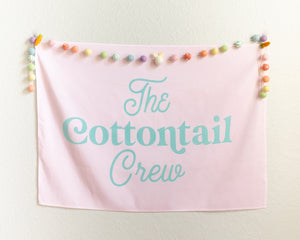 The Cottontail Crew Mini-Backdrop