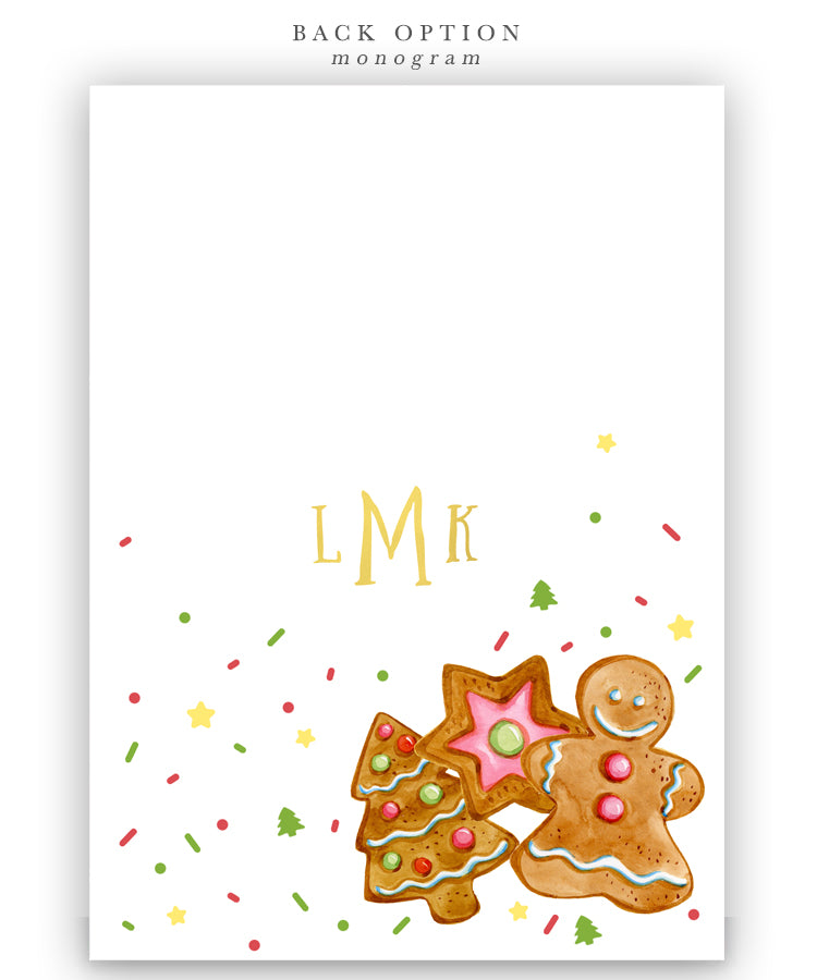 Christmas Cookie Decorating Holiday Party Invitation  Sea Paper