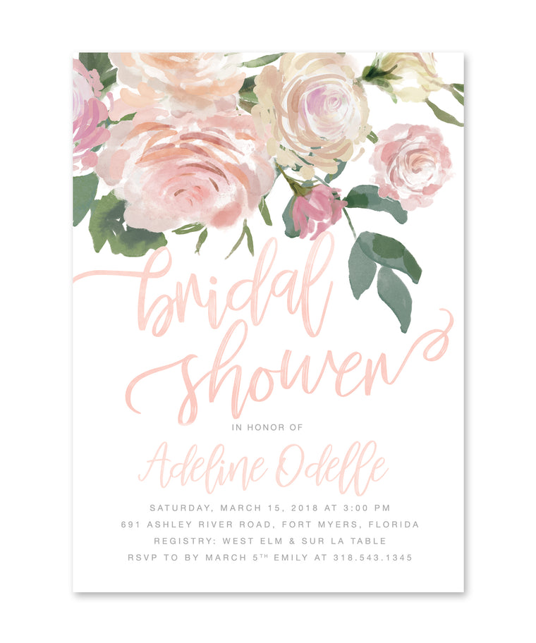 Adeline: Bridal Shower