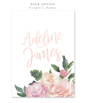 Adeline: Bridal Shower Invitation