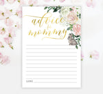 Penny: Advice for Mom Cards {Floral}