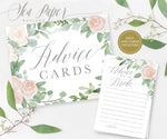 Mila: Advice for The Bride Cards {White}