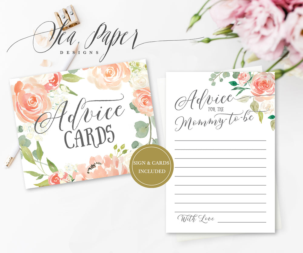 Elodie: Advice for Mom Cards