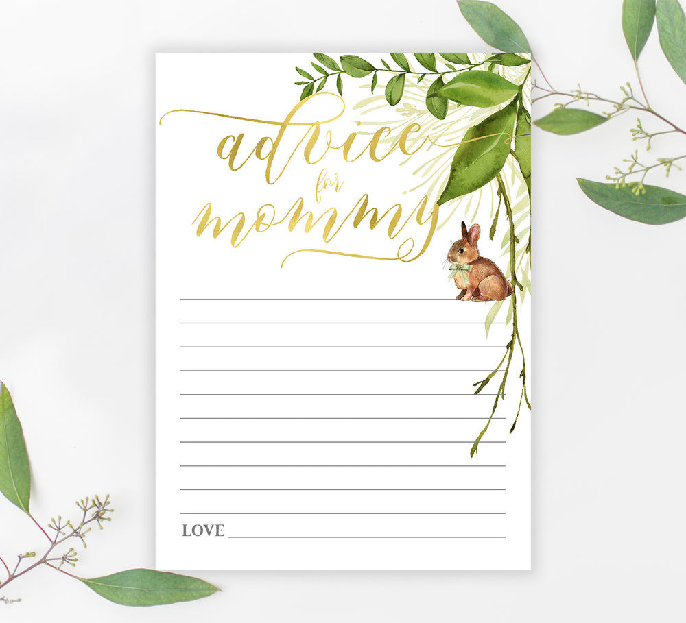 Penny: Advice for Mom Cards {Greenery}
