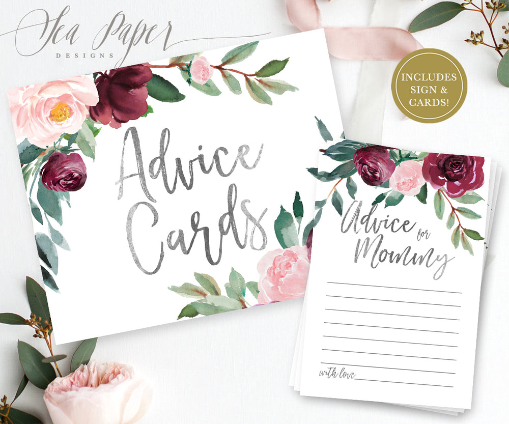 Odette: Advice for Mom Cards {Black}