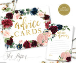 Kristen: Advice for Mom Cards {Navy Pumpkin}