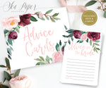 Odette: Advice for The Bride Cards {Pink}