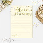 Star: Advice for Mom Cards {Ivory}