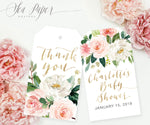 Charlotte: Favor Thank You Tags