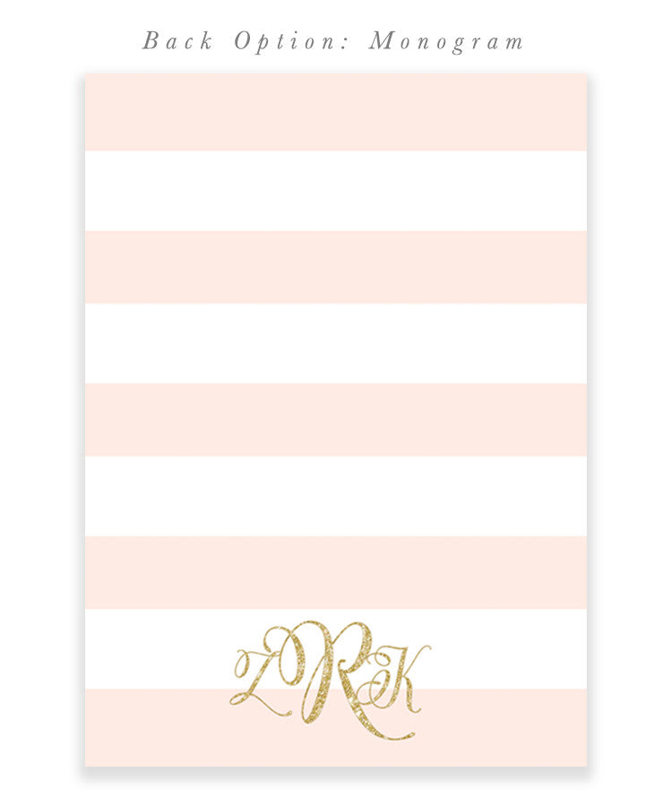 Zoey Black Bow White Stripes Blush Pink Gold Girls Birthday Invitation