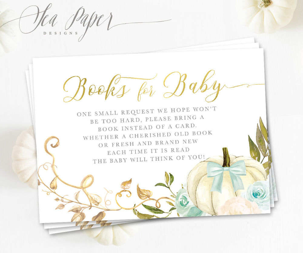 Fall 12: Books for Baby Cards