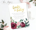 Odette: Books for Baby Cards {Gold}