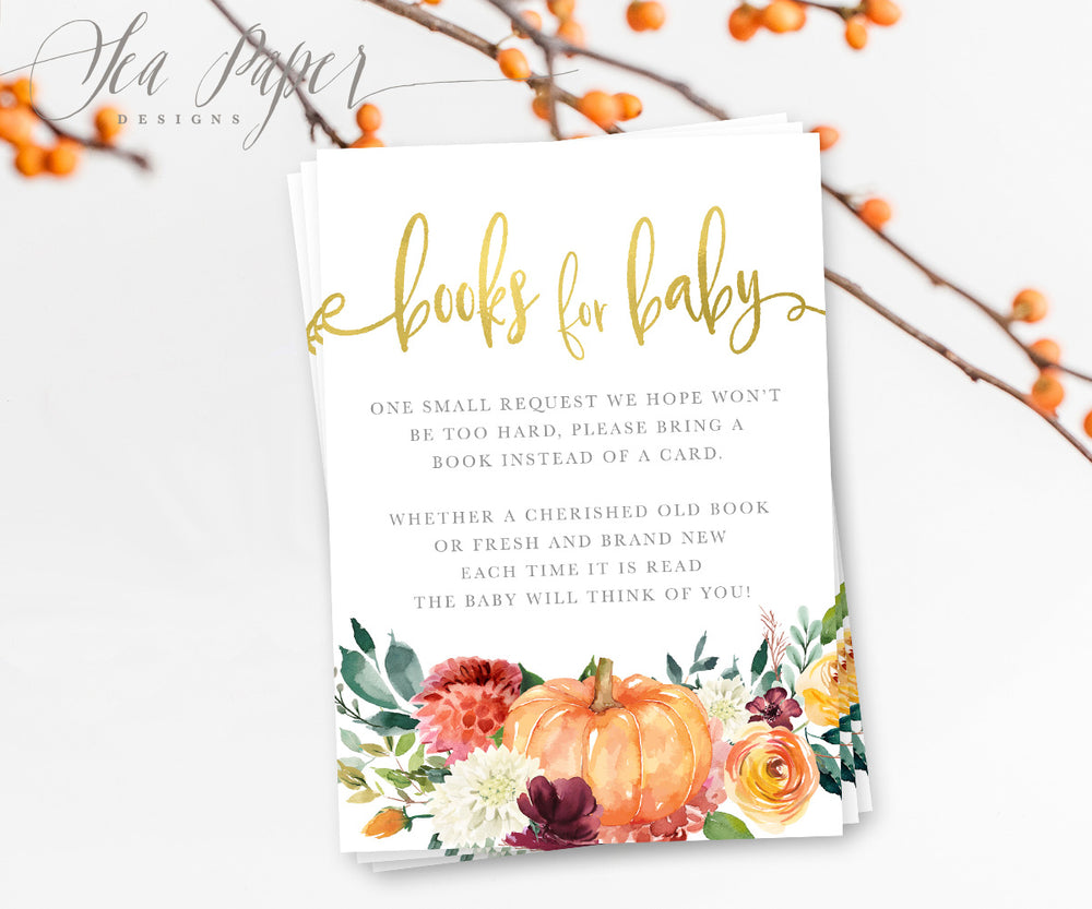 Fall 7: Books for Baby Cards