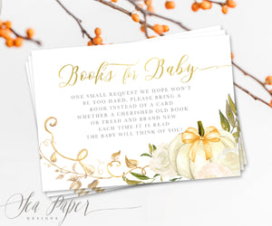 Fall 2: Books for Baby Cards