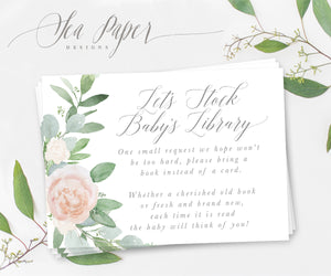 Mila: Books for Baby Cards {White}