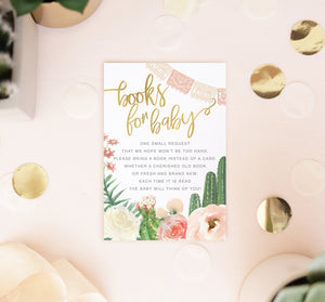 Carrie: Fiesta Baby Shower Invitation