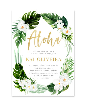 Kai: Tropical Aloha Bridal Shower
