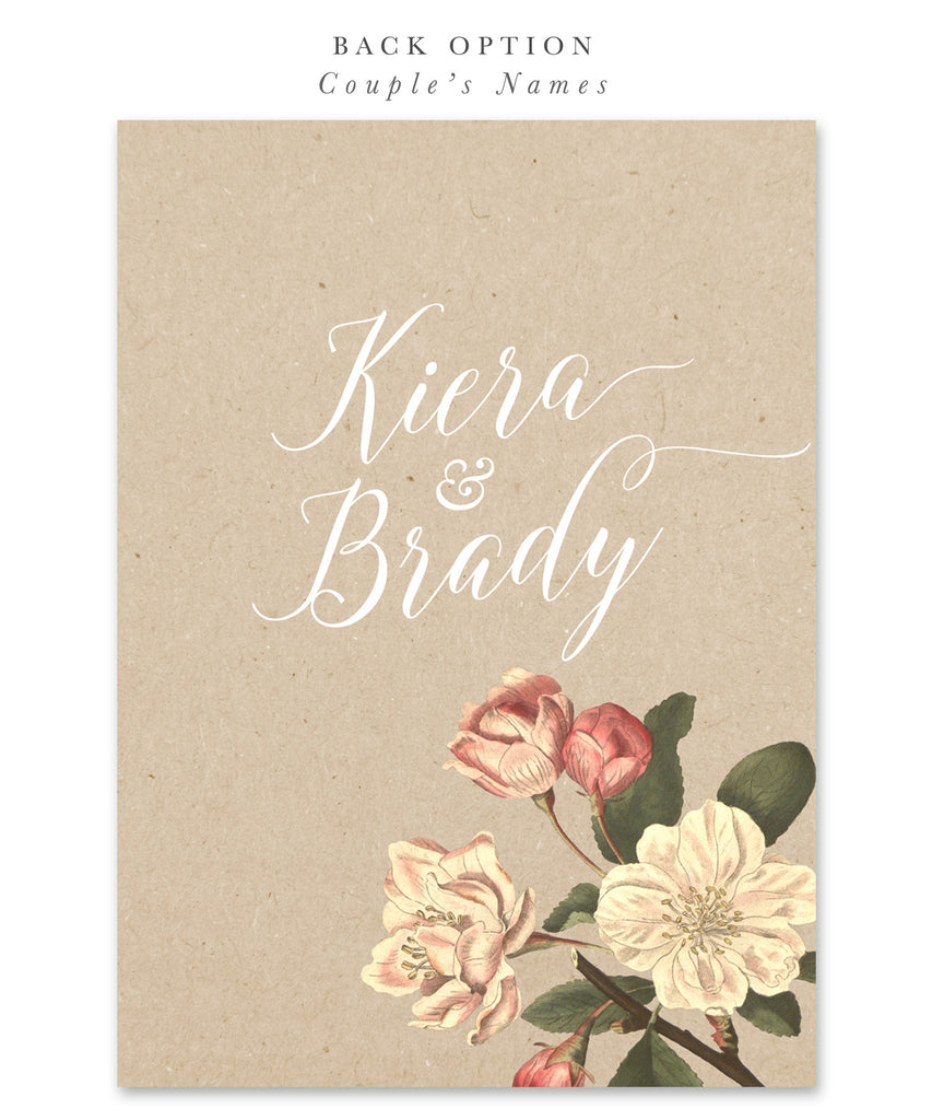 Kiera: Bridal Shower Invitation Peonies & Roses
