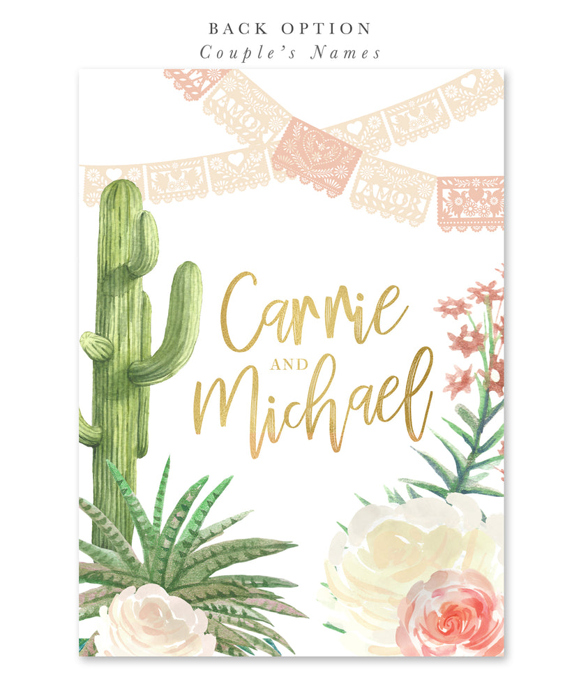 Carrie: Fiesta Bridal Shower Invitation