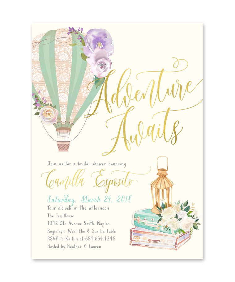 Camilla: Adventure Awaits Bridal Shower