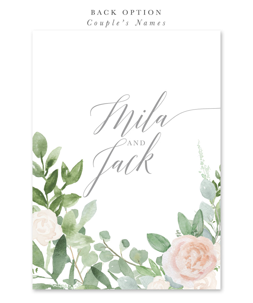 Mila: White Bridal Shower