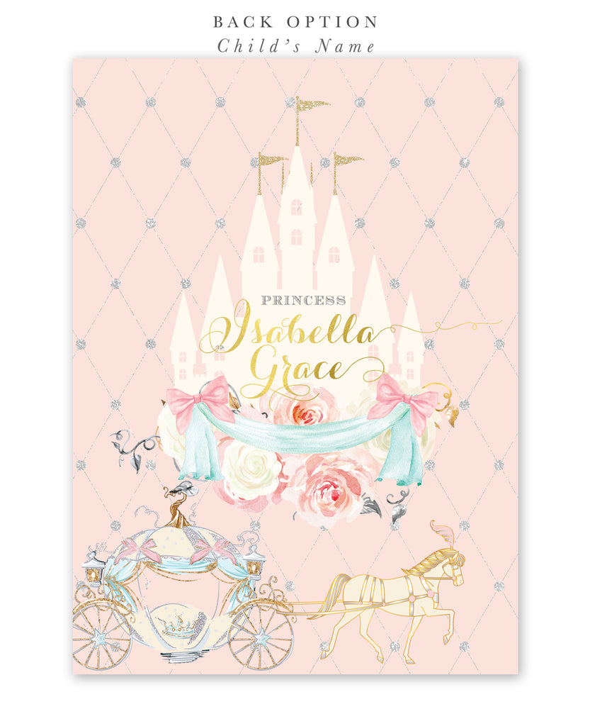 Cinderella: Royal Baby Shower Invitation {Pink}