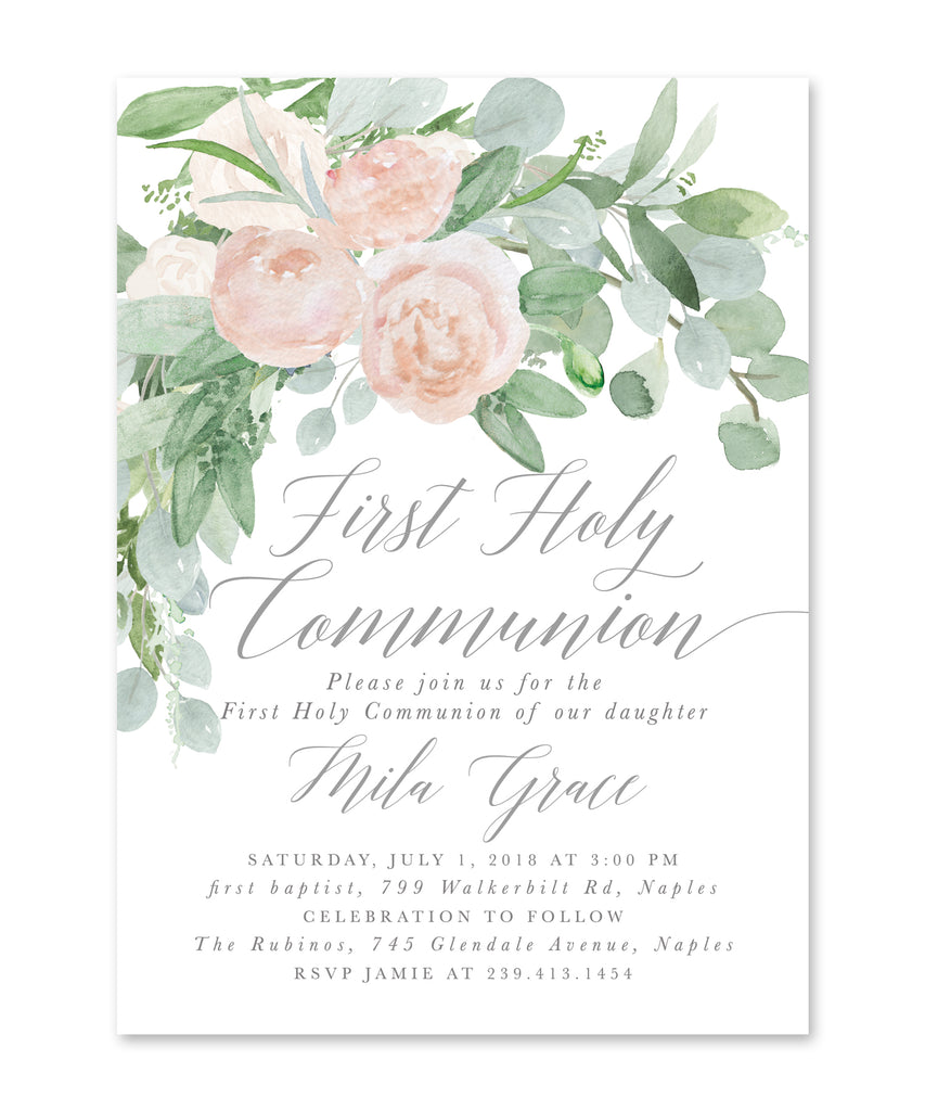 Mila: White First Communion