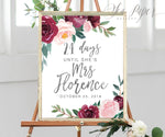 Odette: Days Until Mrs. Sign {Black}