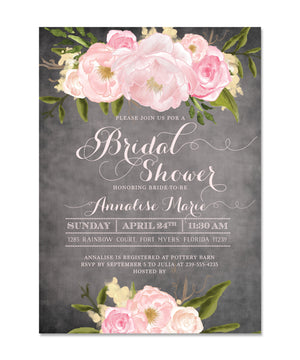 Emily: Bridal Shower Invitation