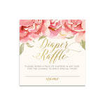 Everly: Diaper Raffle Enclosure Card