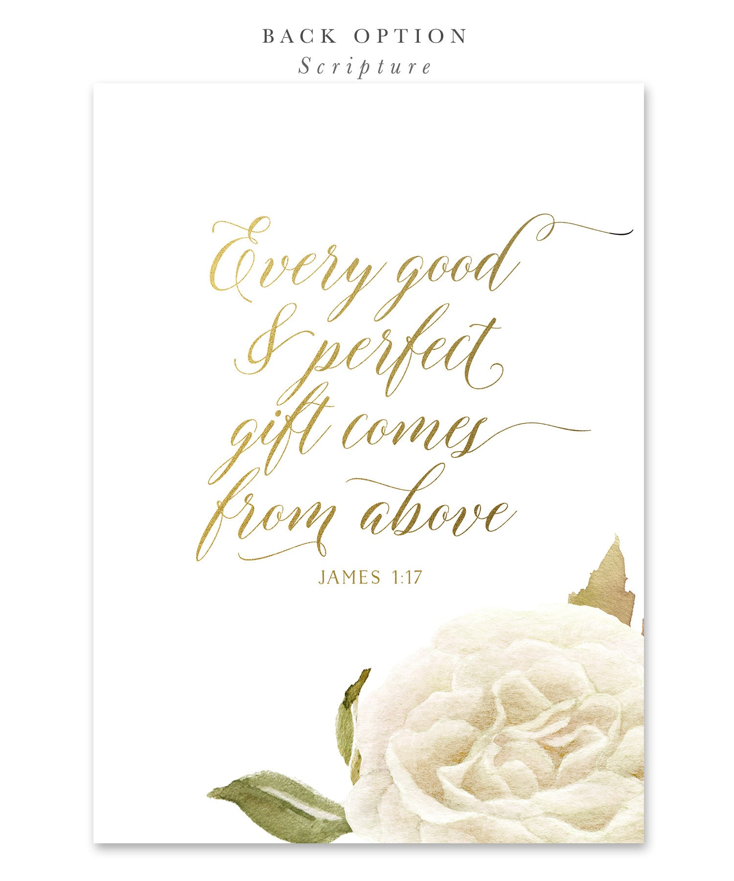 Everly Boy Girl Or Twins Confirmation Invitation White Roses