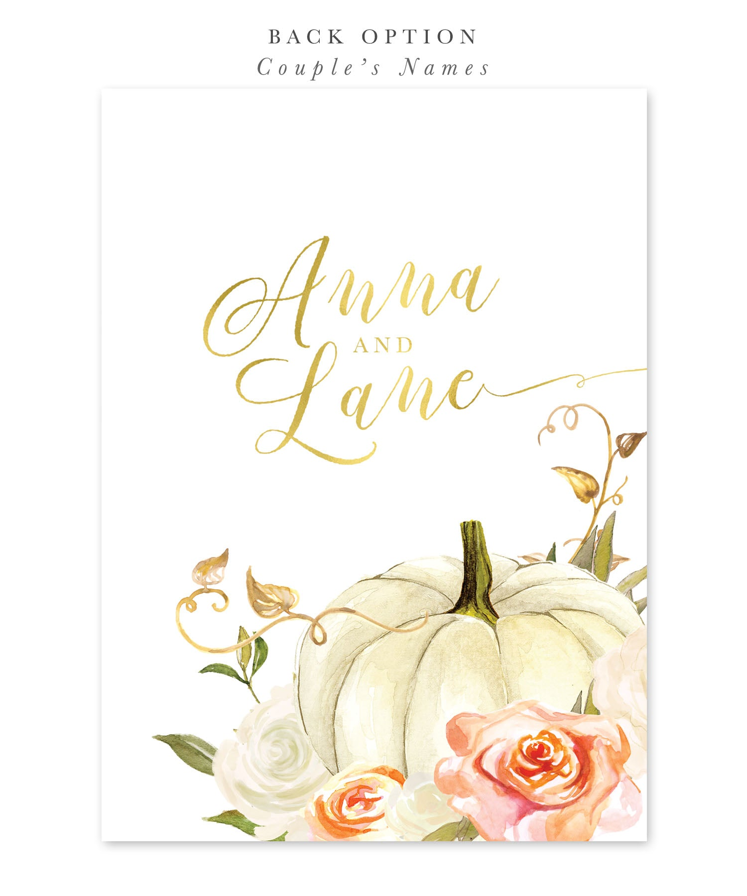 fall bridal shower invitation fall in love autumn bridal shower invite pumpkin orange white roses printed printable design fall 3