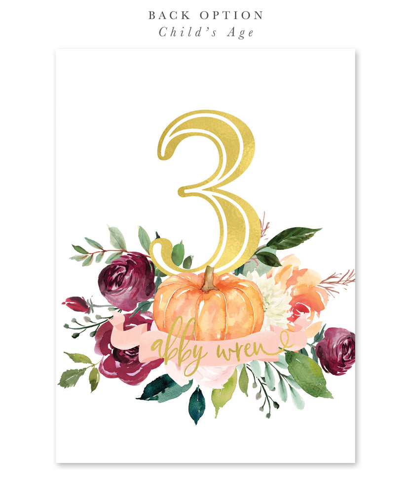 Fall 7: Birthday Invitation