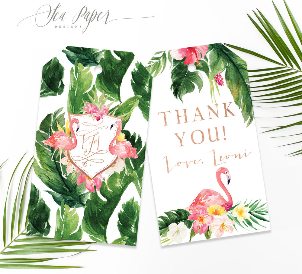 Maya: Favor Thank You Tags