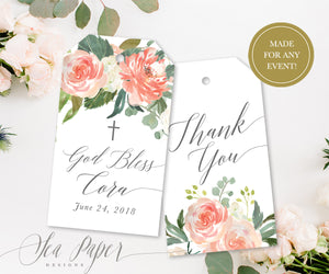 Elodie: Favor Thank You Tags