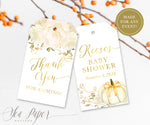 Fall 2: Favor Thank You Tags