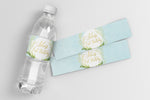 Fiona: Water Bottle Label {Blue}