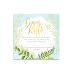 Fiona: Diaper Raffle Enclosure Card {Blue}