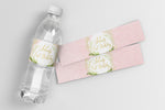 Fiona: Water Bottle Label {Pink}
